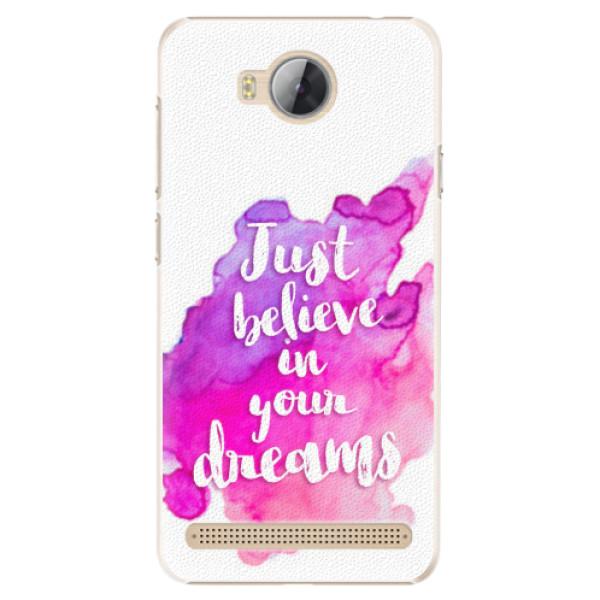 Plastové pouzdro iSaprio - Believe - Huawei Y3 II