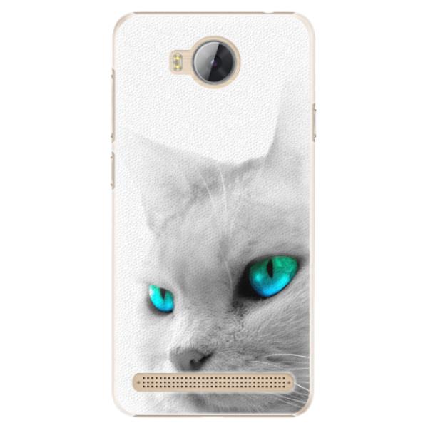 Plastové pouzdro iSaprio - Cats Eyes - Huawei Y3 II