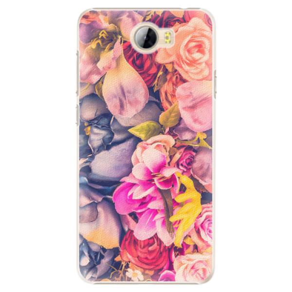 Plastové pouzdro iSaprio - Beauty Flowers - Huawei Y5 II / Y6 II Compact