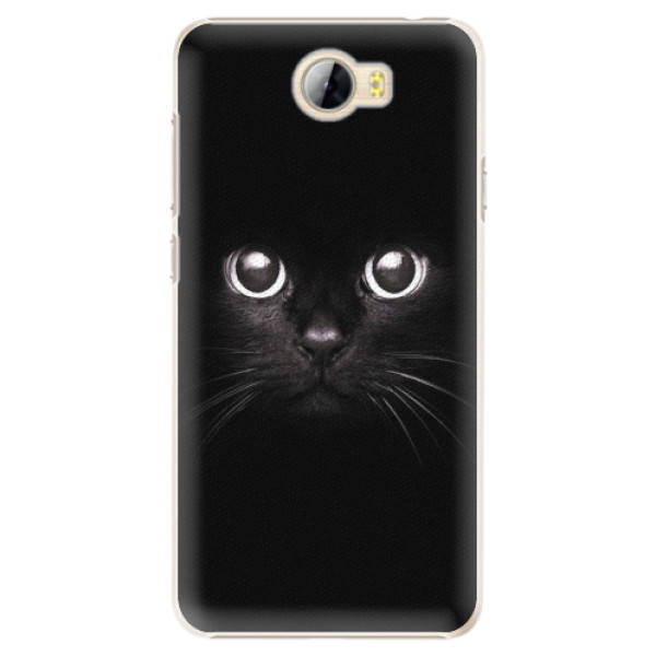 Plastové pouzdro iSaprio - Black Cat - Huawei Y5 II / Y6 II Compact