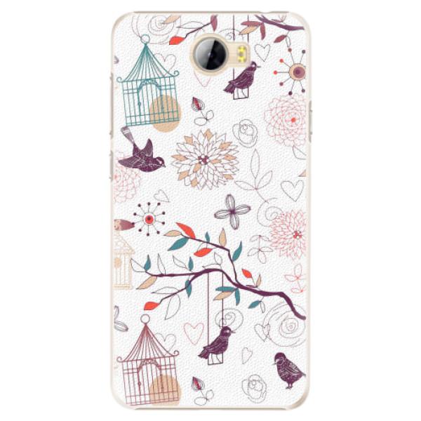 Plastové pouzdro iSaprio - Birds - Huawei Y5 II / Y6 II Compact