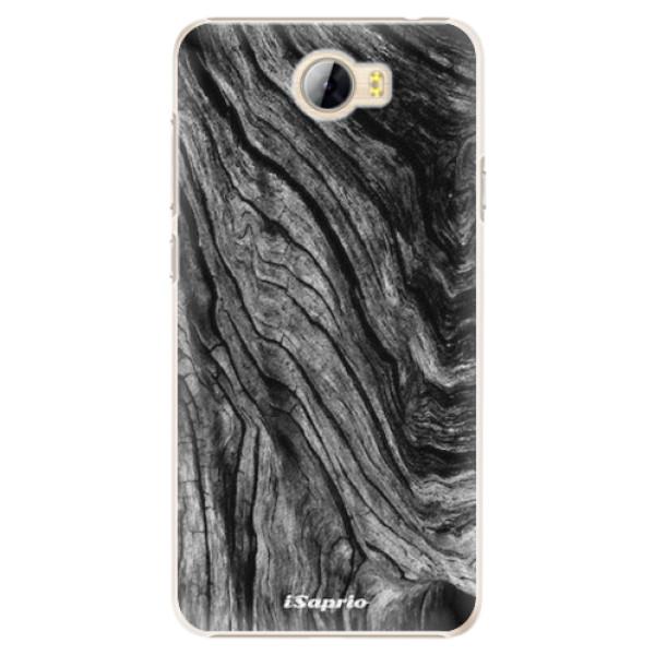 Plastové pouzdro iSaprio - Burned Wood - Huawei Y5 II / Y6 II Compact