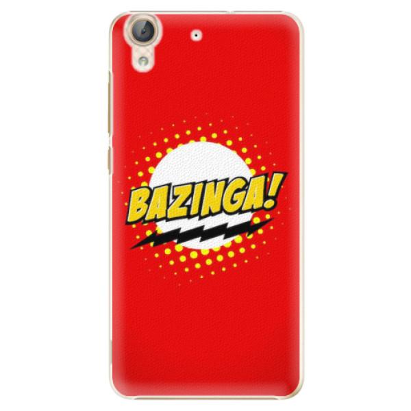 Plastové pouzdro iSaprio - Bazinga 01 - Huawei Y6 II