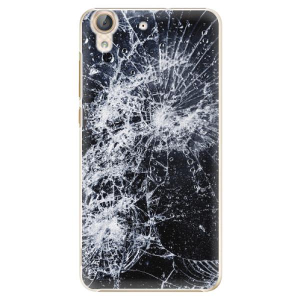 Plastové pouzdro iSaprio - Cracked - Huawei Y6 II