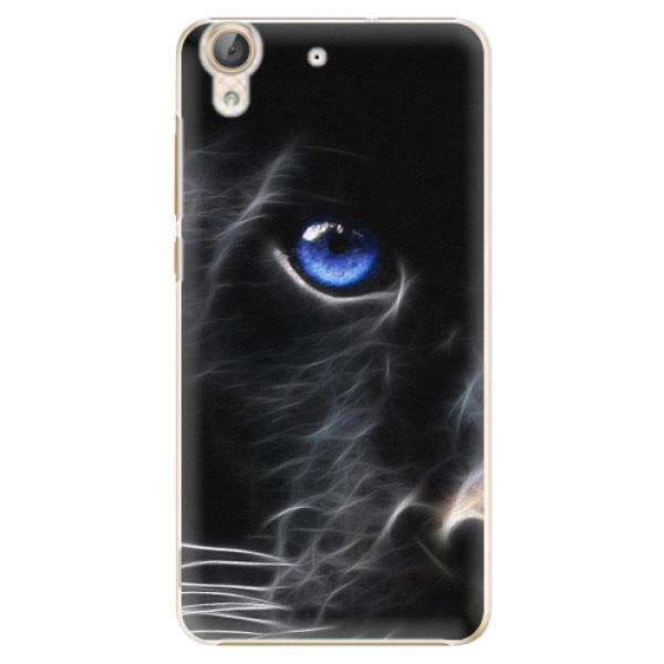 Plastové pouzdro iSaprio - Black Puma - Huawei Y6 II