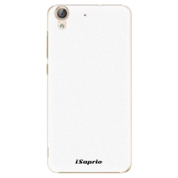 Plastové pouzdro iSaprio - 4Pure - bílý - Huawei Y6 II