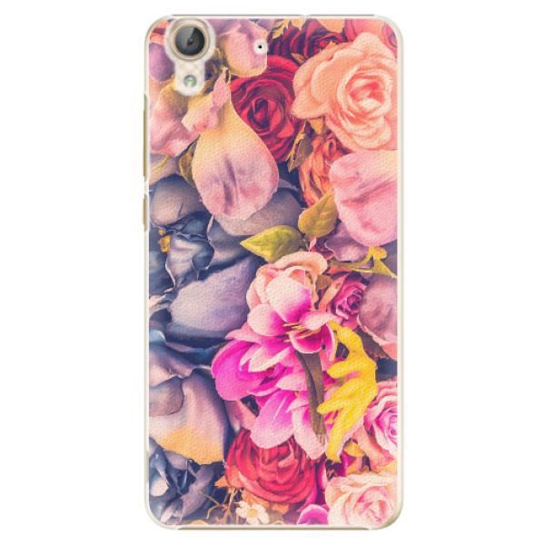 Plastové pouzdro iSaprio - Beauty Flowers - Huawei Y6 II