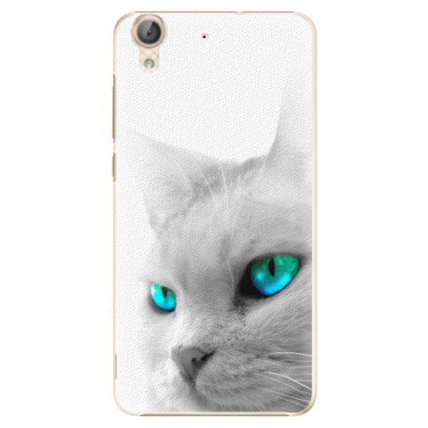 Plastové pouzdro iSaprio - Cats Eyes - Huawei Y6 II