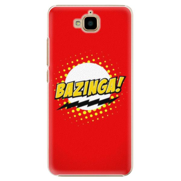 Plastové pouzdro iSaprio - Bazinga 01 - Huawei Y6 Pro