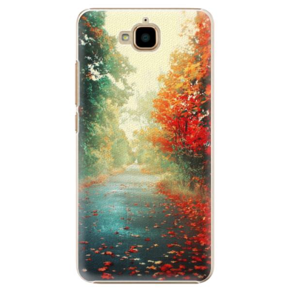 Plastové pouzdro iSaprio - Autumn 03 - Huawei Y6 Pro
