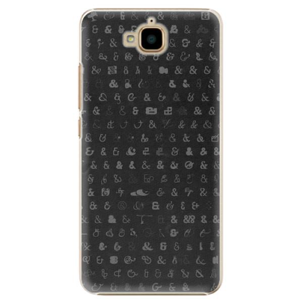 Plastové pouzdro iSaprio - Ampersand 01 - Huawei Y6 Pro