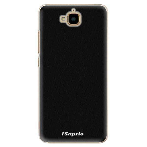 Plastové pouzdro iSaprio - 4Pure - černý - Huawei Y6 Pro