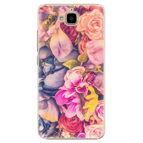 Plastové pouzdro iSaprio - Beauty Flowers - Huawei Y6 Pro