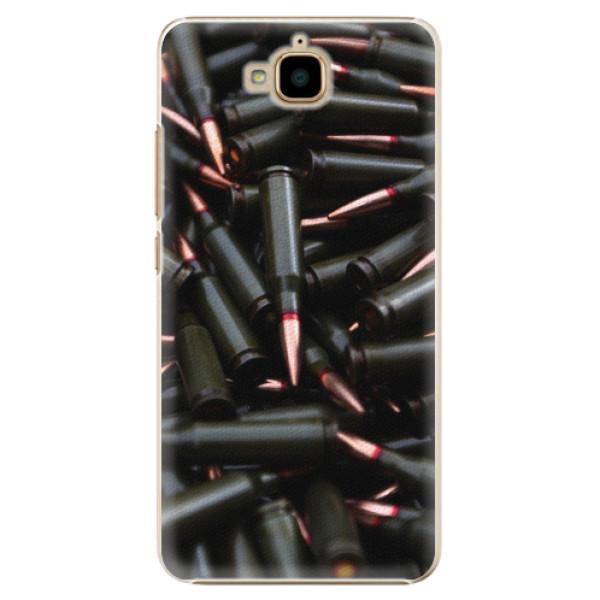 Plastové pouzdro iSaprio - Black Bullet - Huawei Y6 Pro