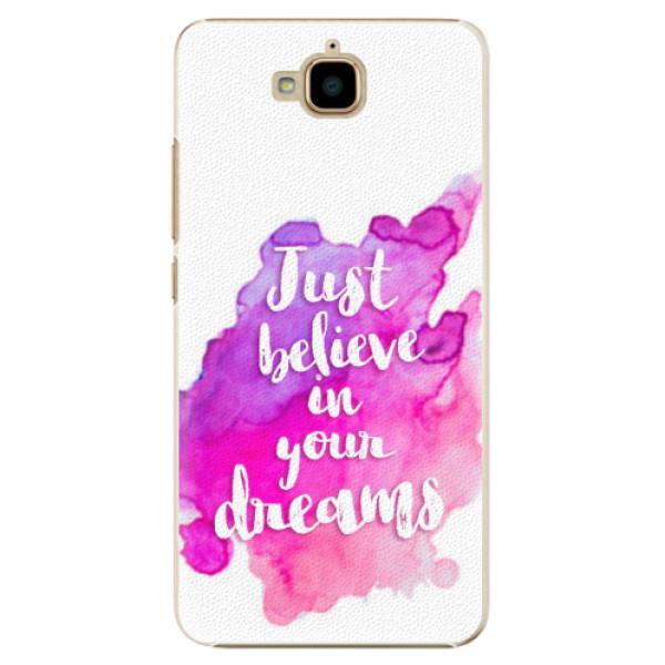 Plastové pouzdro iSaprio - Believe - Huawei Y6 Pro