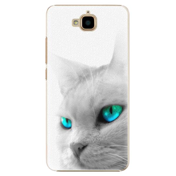 Plastové pouzdro iSaprio - Cats Eyes - Huawei Y6 Pro