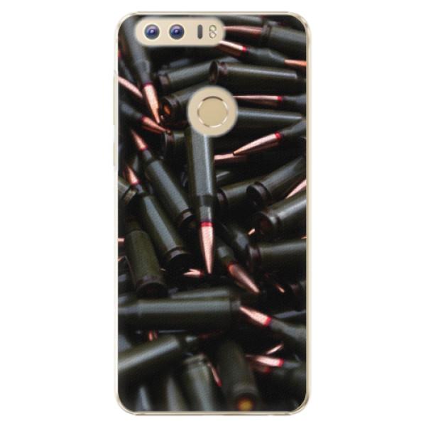 Plastové pouzdro iSaprio - Black Bullet - Huawei Honor 8