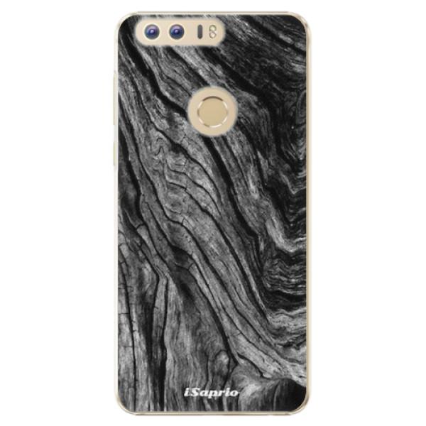 Plastové pouzdro iSaprio - Burned Wood - Huawei Honor 8