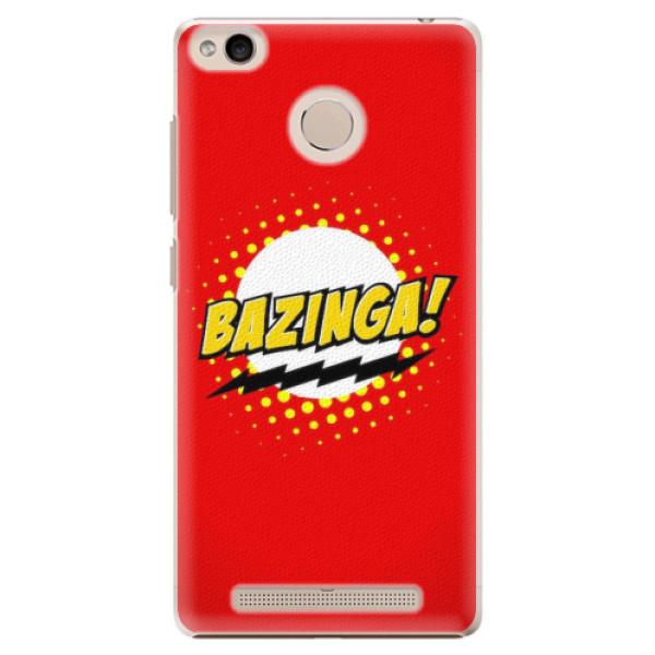 Plastové pouzdro iSaprio - Bazinga 01 - Xiaomi Redmi 3S