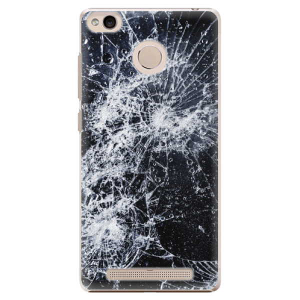 Plastové pouzdro iSaprio - Cracked - Xiaomi Redmi 3S