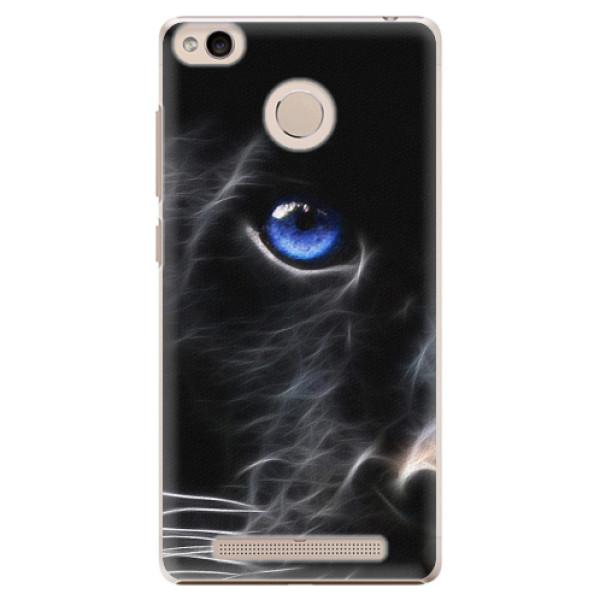 Plastové pouzdro iSaprio - Black Puma - Xiaomi Redmi 3S