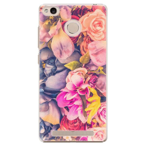Plastové pouzdro iSaprio - Beauty Flowers - Xiaomi Redmi 3S