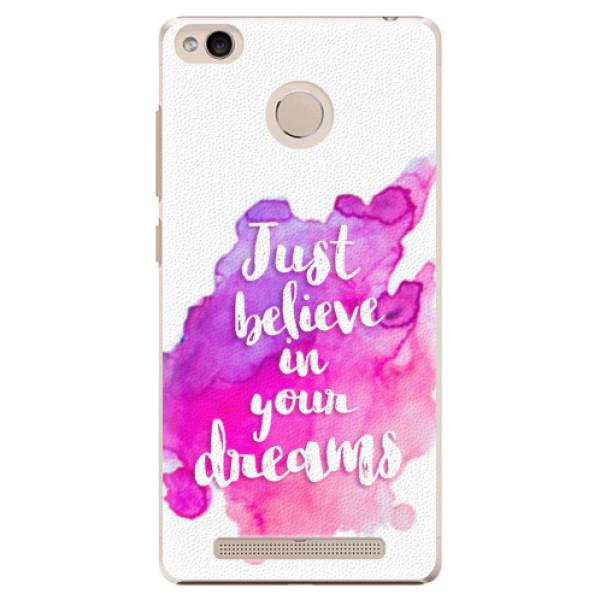 Plastové pouzdro iSaprio - Believe - Xiaomi Redmi 3S