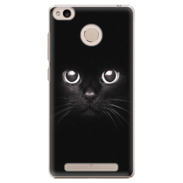 Plastové pouzdro iSaprio - Black Cat - Xiaomi Redmi 3S