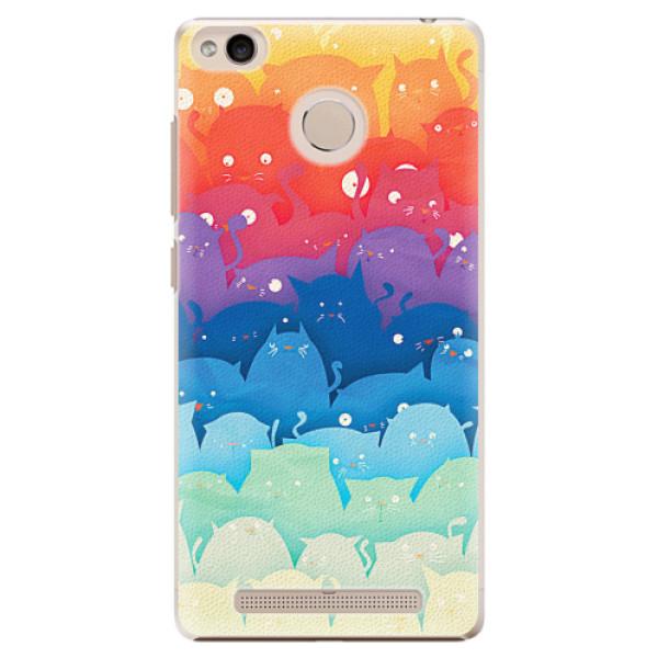 Plastové pouzdro iSaprio - Cats World - Xiaomi Redmi 3S