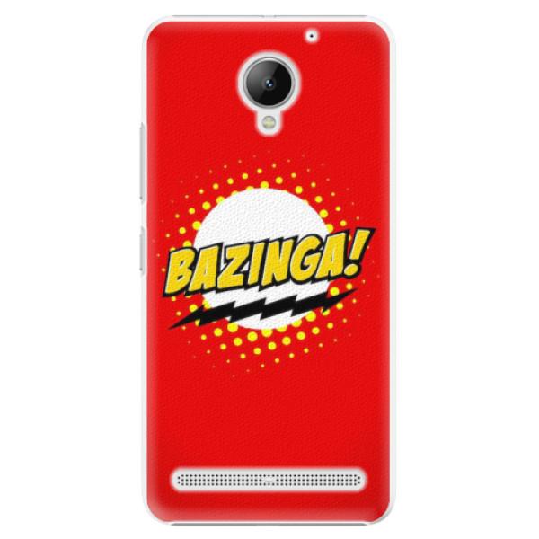 Plastové pouzdro iSaprio - Bazinga 01 - Lenovo C2