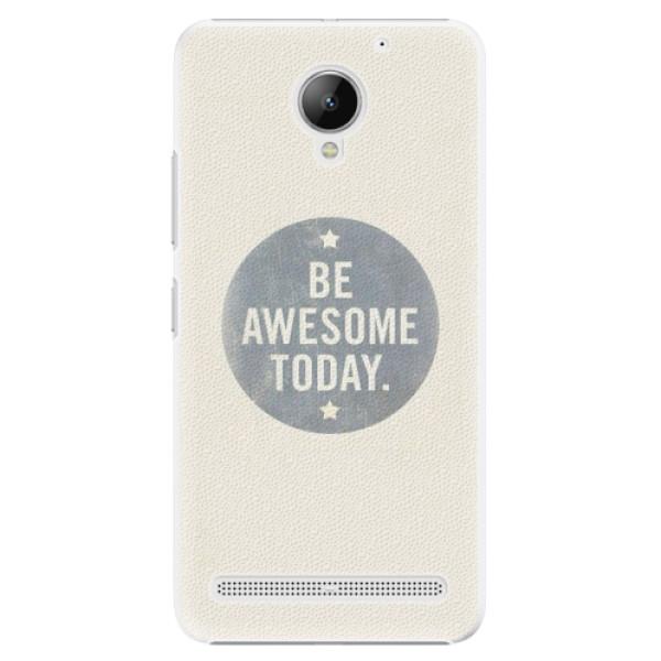 Plastové pouzdro iSaprio - Awesome 02 - Lenovo C2
