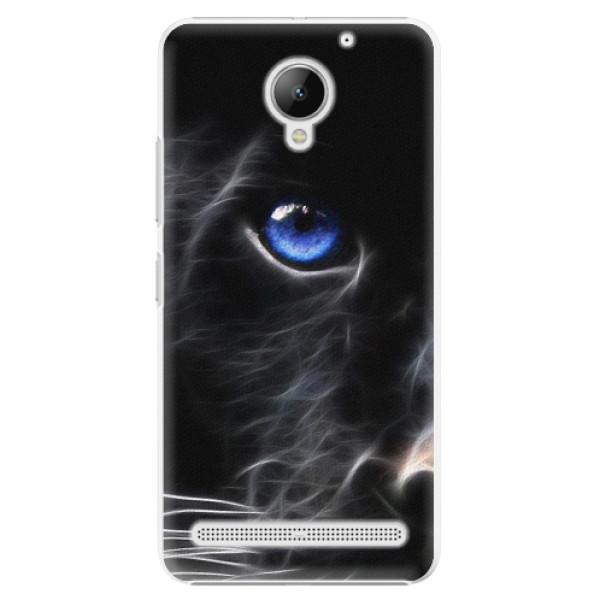 Plastové pouzdro iSaprio - Black Puma - Lenovo C2