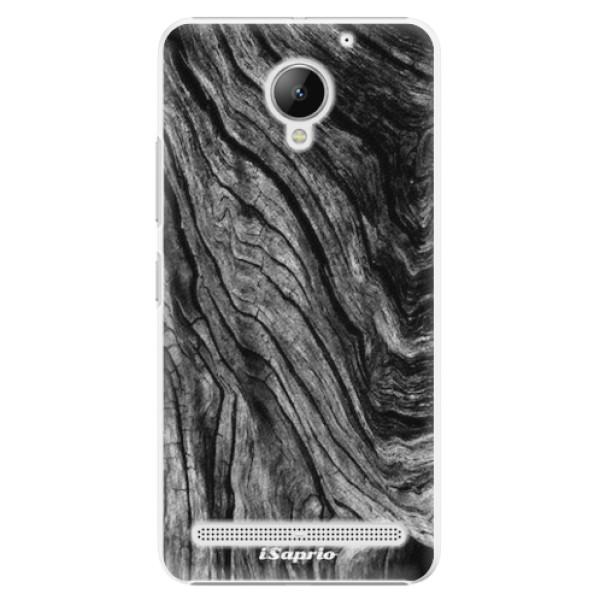 Plastové pouzdro iSaprio - Burned Wood - Lenovo C2