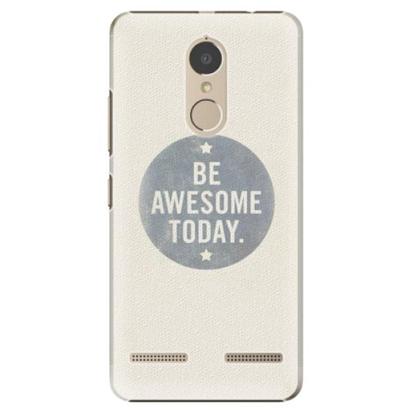 Plastové pouzdro iSaprio - Awesome 02 - Lenovo K6