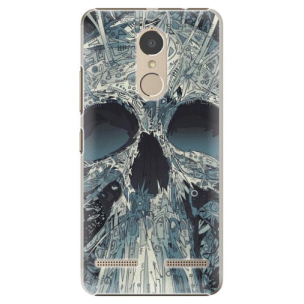 Plastové pouzdro iSaprio - Abstract Skull - Lenovo K6