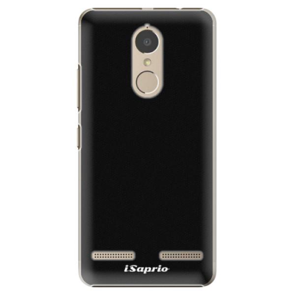 Plastové pouzdro iSaprio - 4Pure - černý - Lenovo K6