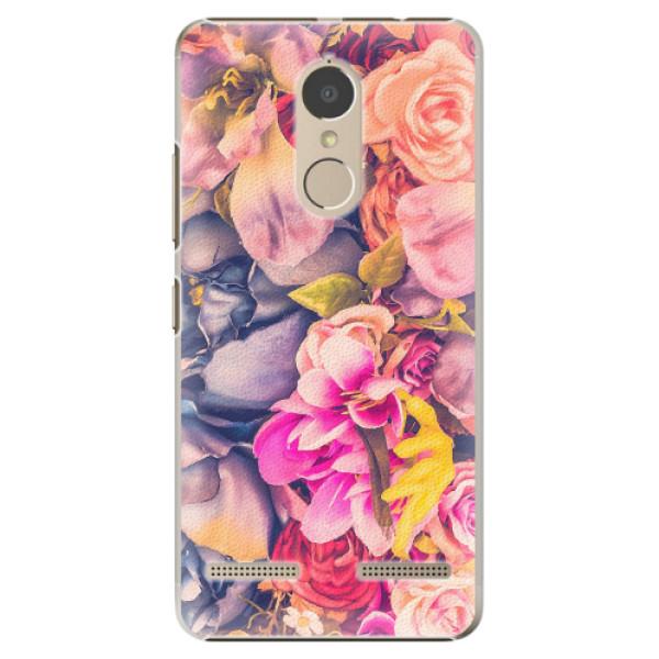 Plastové pouzdro iSaprio - Beauty Flowers - Lenovo K6