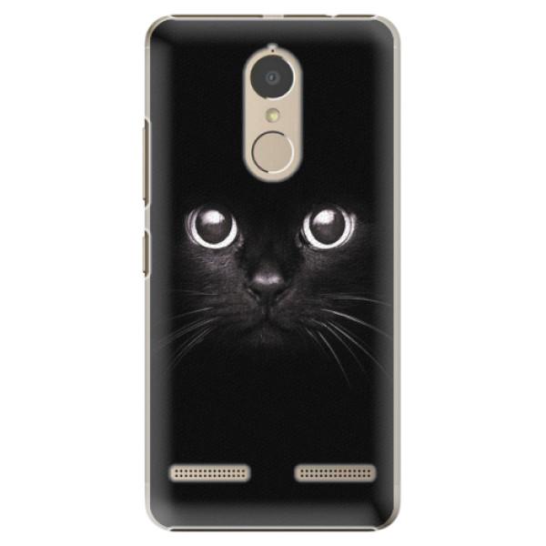 Plastové pouzdro iSaprio - Black Cat - Lenovo K6