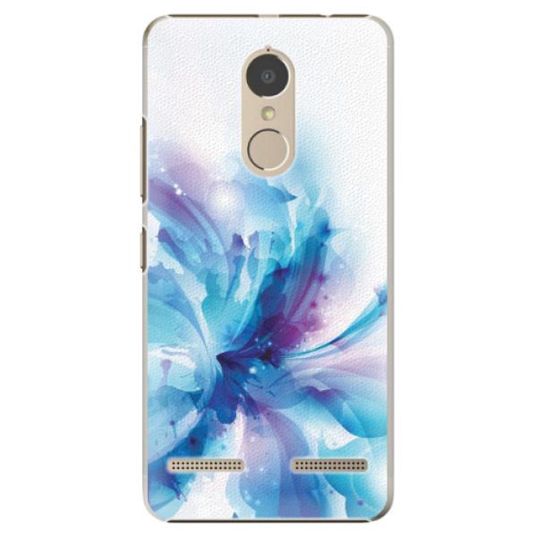Plastové pouzdro iSaprio - Abstract Flower - Lenovo K6