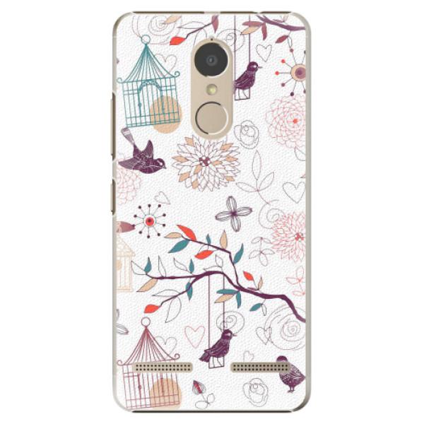 Plastové pouzdro iSaprio - Birds - Lenovo K6