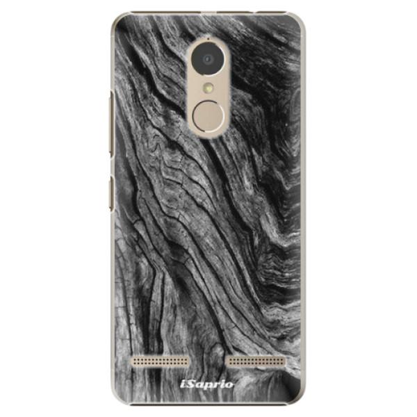Plastové pouzdro iSaprio - Burned Wood - Lenovo K6