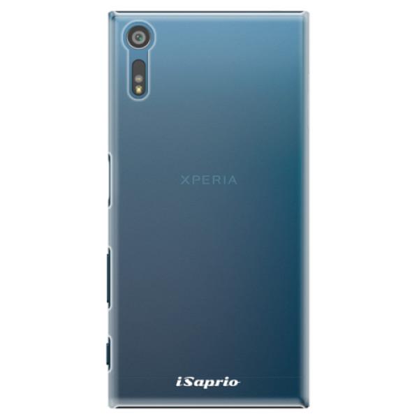 Plastové pouzdro iSaprio - 4Pure - mléčný bez potisku - Sony Xperia XZ