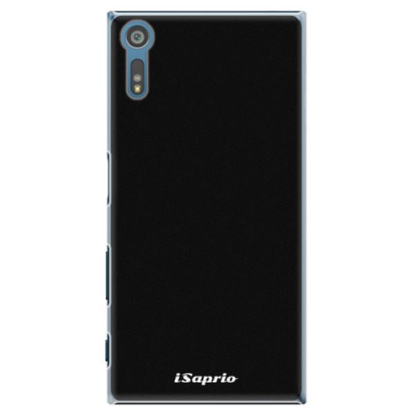 Plastové pouzdro iSaprio - 4Pure - černý - Sony Xperia XZ