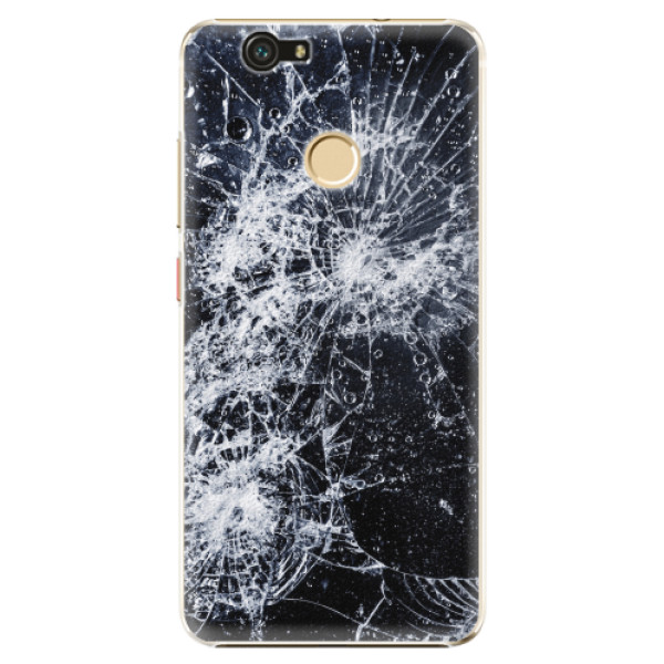 Plastové pouzdro iSaprio - Cracked - Huawei Nova
