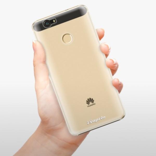 Plastové pouzdro iSaprio - 4Pure - mléčný bez potisku - Huawei Nova