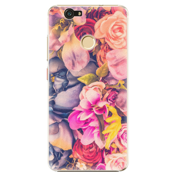 Plastové pouzdro iSaprio - Beauty Flowers - Huawei Nova