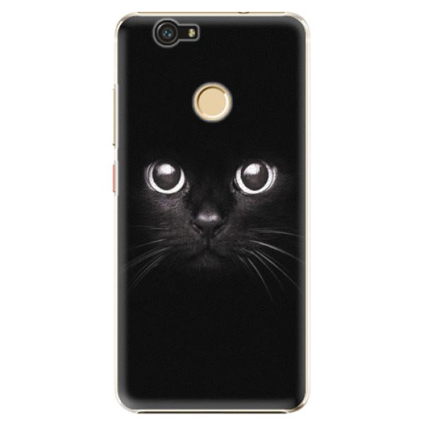 Plastové pouzdro iSaprio - Black Cat - Huawei Nova