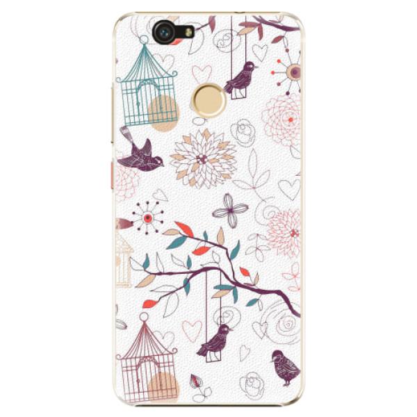 Plastové pouzdro iSaprio - Birds - Huawei Nova