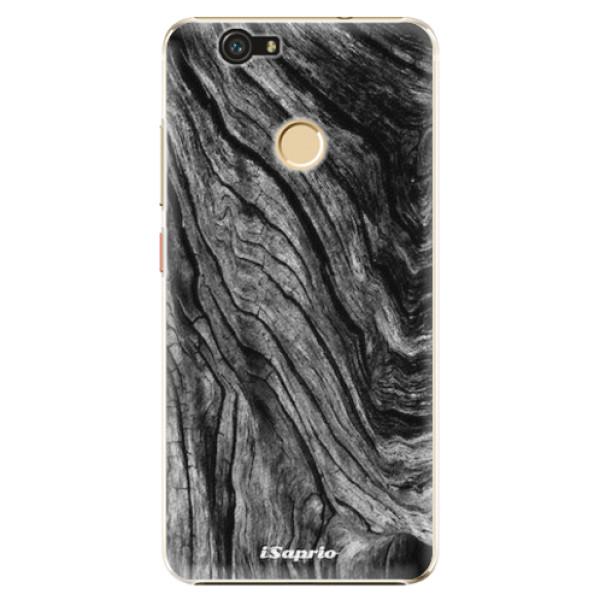 Plastové pouzdro iSaprio - Burned Wood - Huawei Nova