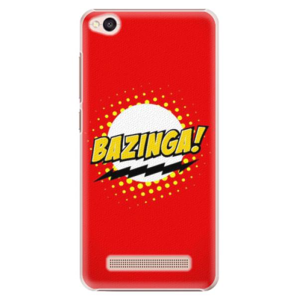 Plastové pouzdro iSaprio - Bazinga 01 - Xiaomi Redmi 4A